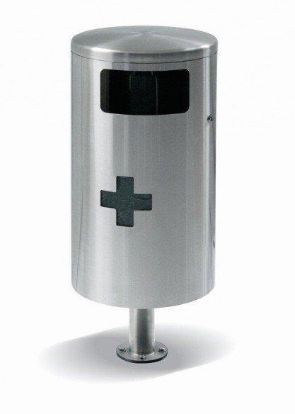 HELVETIAbin 35 litres suspendu avec cendrier latéral