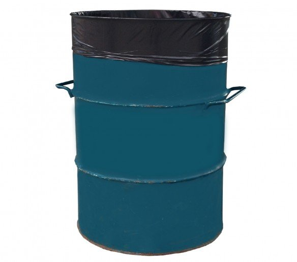 Sacchi per rifiuti a tamburo 120l, 200l, 240l o 360l