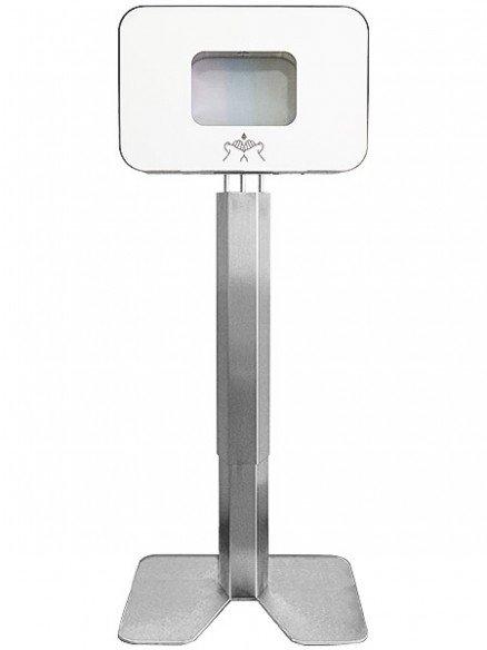 Premium hygiene station with touchless disinfection dispenser Praesidio