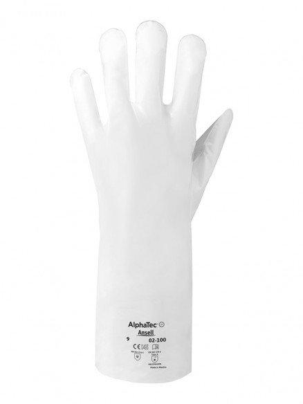 Chemikalienschutzhandschuhe Ansell AlphaTec® 02-100