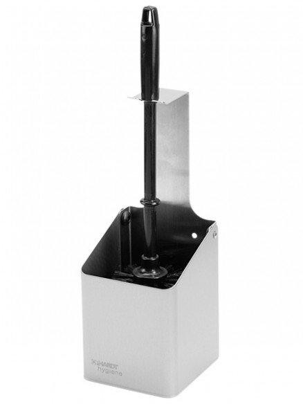 WBU 2 porte-balai pour toilettes en acier inoxydable