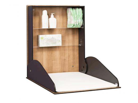 Fasciatoio orizzontale in legno Deluxe