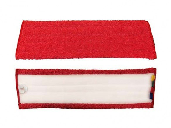 NuTex Microfast Velcro, rot