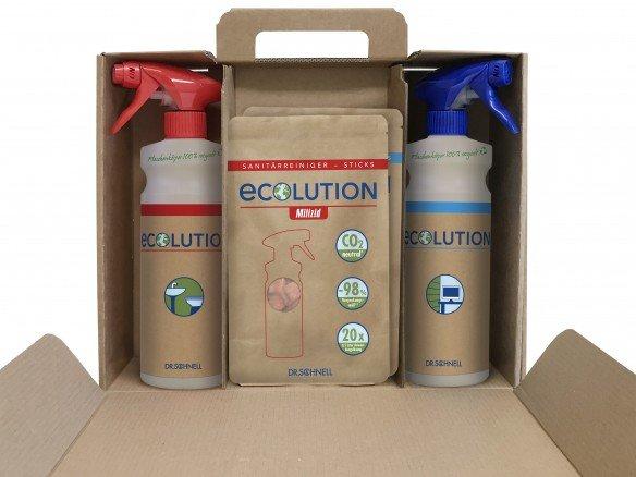 Ecolution Starterkit mit Milizid und Forol Sticks
