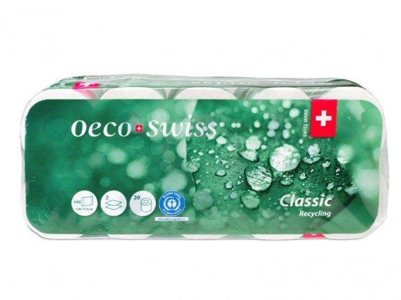OecoSwiss Toilettenpapier (400 Blatt)