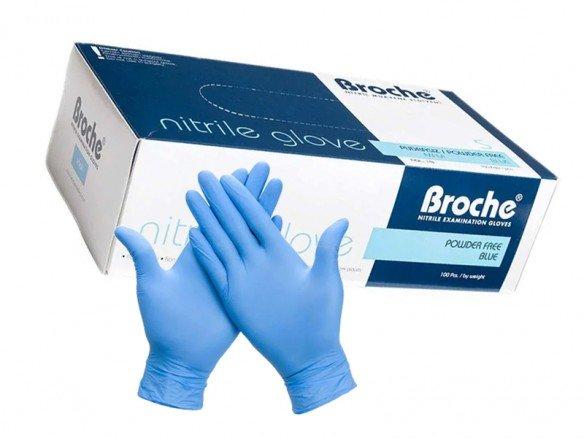 Nitril Einweghandschuhe Blau