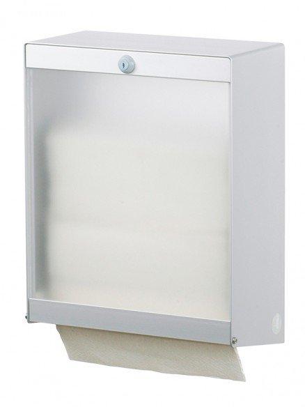 Papierhandtuchspender transparent 750 Blatt