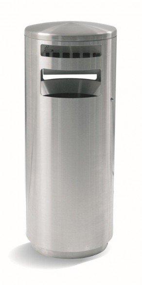 HELVETIAbin 110 litres autoportant avec cendrier à trou unique