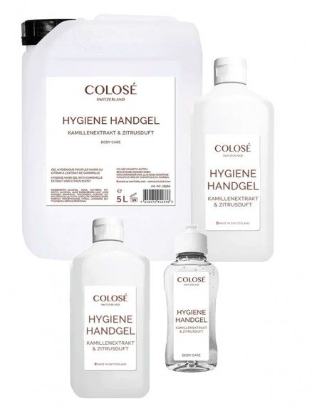 Colosé Hygiene Handgel mit Citrusduft