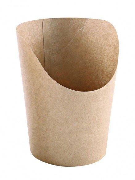 "BIO Snackverpackung ""Wrap"" Kraftpapier"