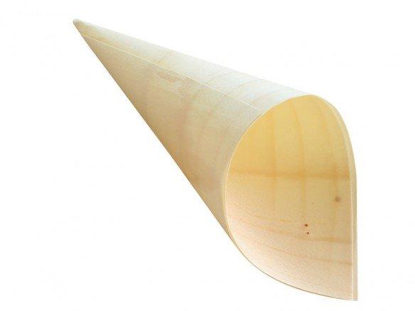 Bio Holzspitztüte Pinienholz