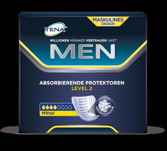 Tena Men Livello 2, Tamponi per l'incontinenza media