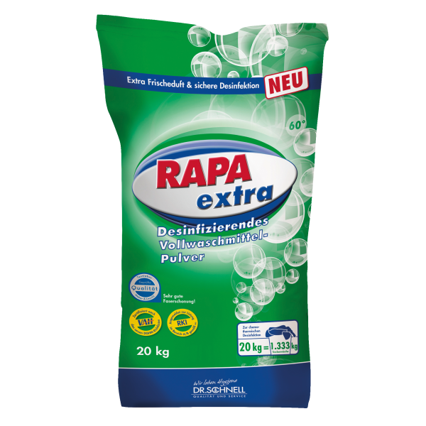 RAPA EXTRA disinfecting heavy duty detergent 20kg