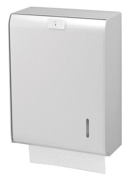 Papierhandtuchspender 750 Blatt Aluminium