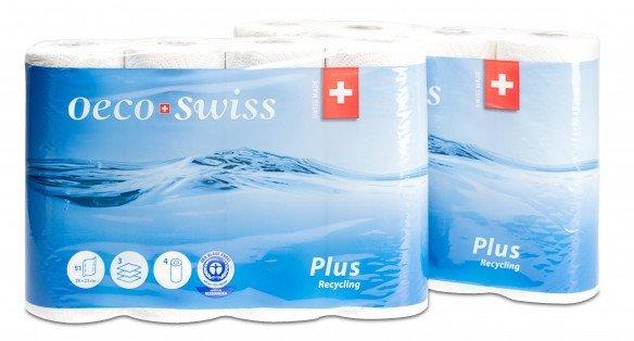OecoSwiss Plus Haushaltspapier 3-lagig