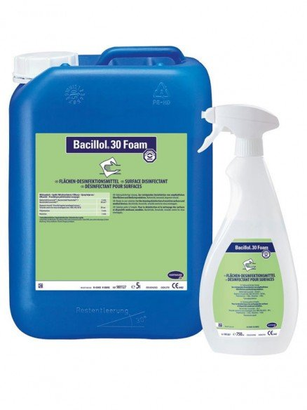 Bacillol, désinfectant rapide pour les surfaces