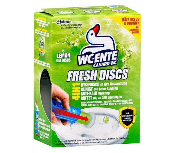 Canard-WC Fresh Discs Lemon