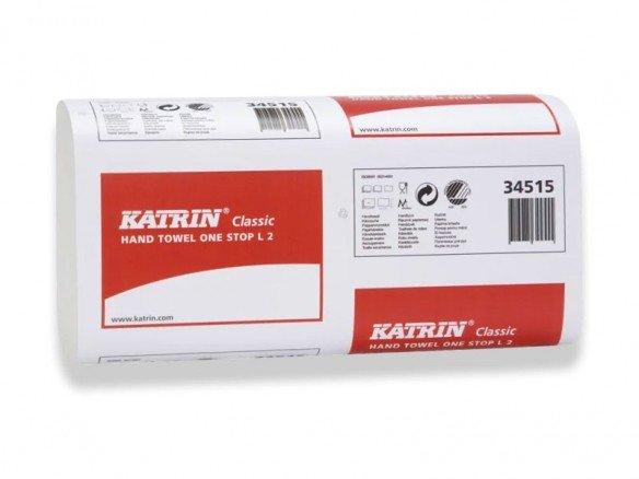 KATRIN Papierhandtücher Zellstoff 2-lagig (2310 Stk)