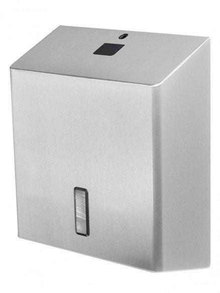 Papierhandtuchspender Edelstahl 500 - 600 Blatt