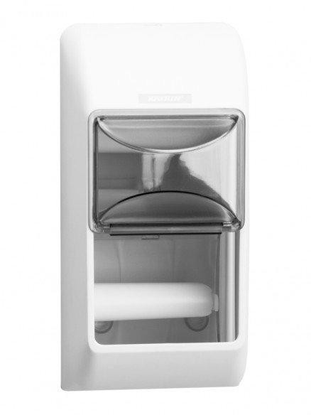 Distributore di carta igienica Katrin per 2 rotoli