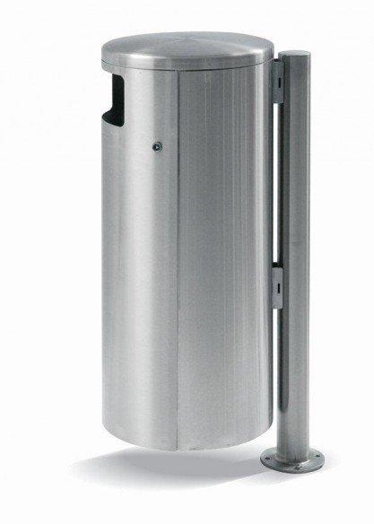 HELVETIAbin 60 litres suspendue avec cendrier latéral