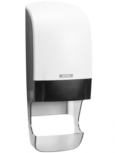 Katrin Inclusive Toilettenpapierspender mit Hülsenfänger weiss