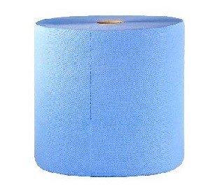 Maxi rouleau de nettoyage 3 plis bleu