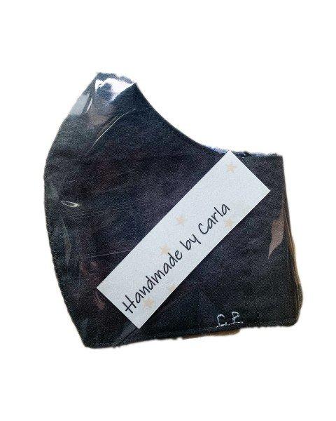 Maschera protettiva antimicrobica in cotone organico fatto a mano