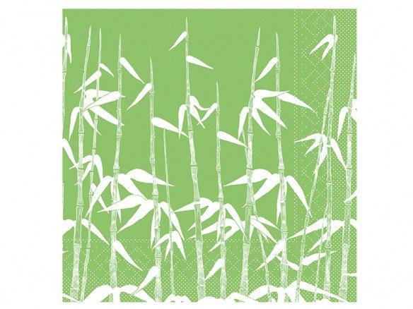 Mank Tissue Green Bamboo Servietten 1/4 Falz