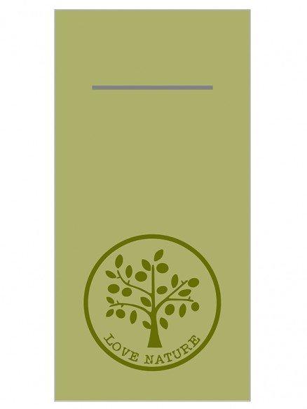 Mank Linclass Love Nature Taschenserviette 40 x 40cm