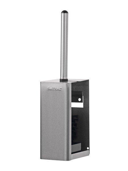 WBU 3 Portaspazzola per WC in acciaio inox