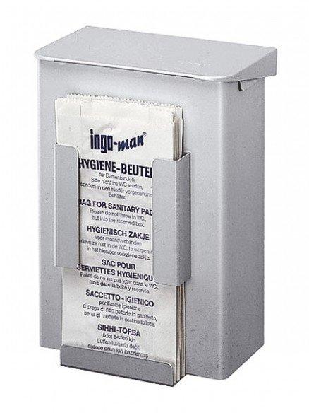 HB 1 Ladies hygiene waste box with hygiene bag dispenser 6l