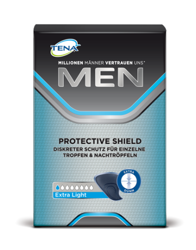 Tena Men Protective Shield extra light incontinence pads