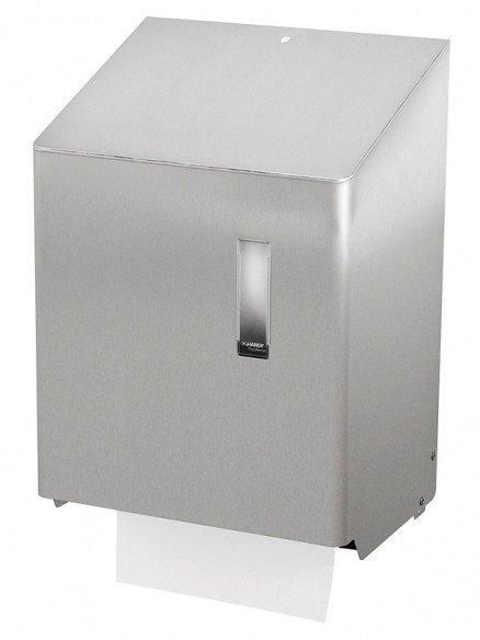Papierhandtuchspender mit automatischem Vorschub für Rollen mit Aussenabwicklung