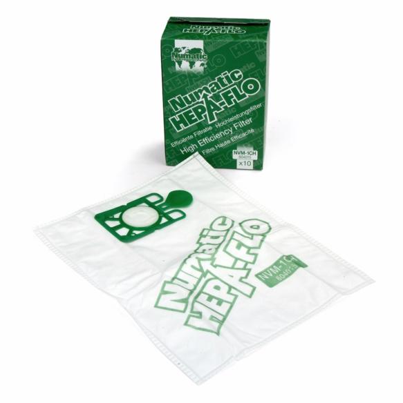 Sacchetto di polvere Hepa-Flo fleece NVM-3BH