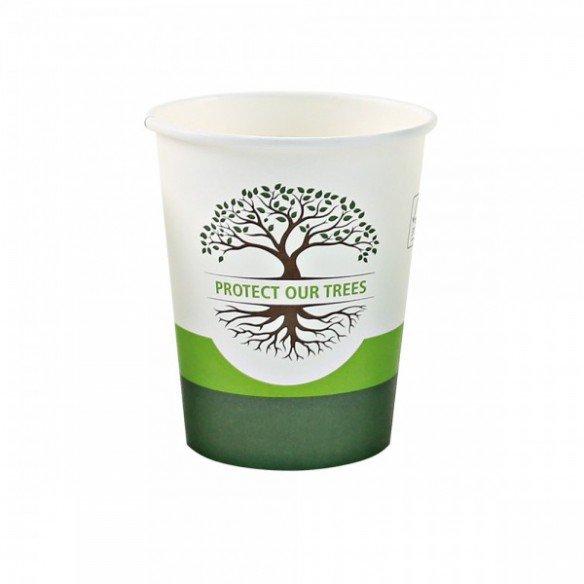 """Organic mug """"Natural"""" 1-walled"""