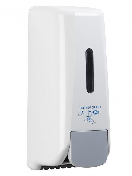 Distributeur de désinfectant pour siège de toilettes CleanYourSeat