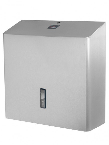 Toilettenpapierspender Edelstahl für 4 Standardrollen