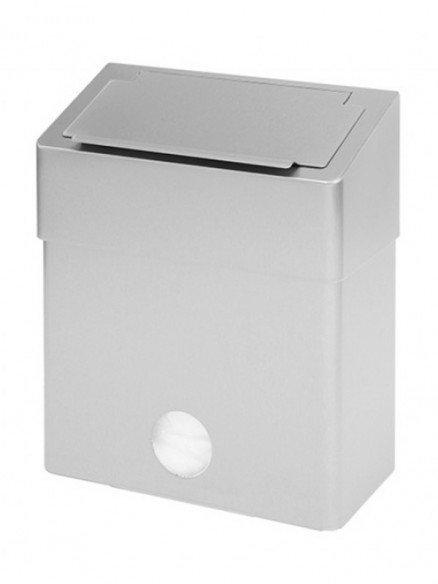 Hygiene Abfallbox Edelstahl mit Klappdeckel