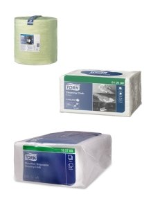 TORK wiping and cleaning cloths