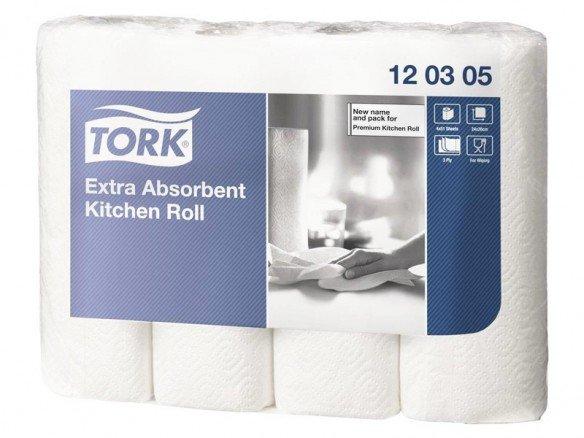 TORK Haushaltspapier extra saugfähig 3-lagig